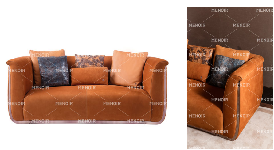 Menoir saddle leather recliner company for sale