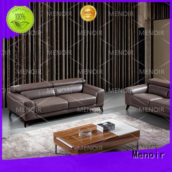 Menoir durable modern leather sofa supplier bulk production