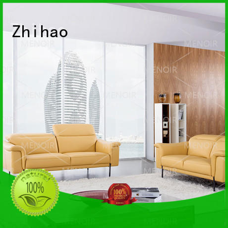 color removable small Zhihao Brand leather sectional sofa supplier