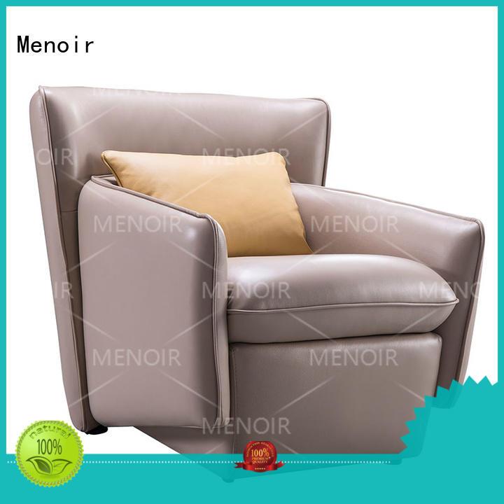 Menoir light modern leather swivel chair factory direct supply for household