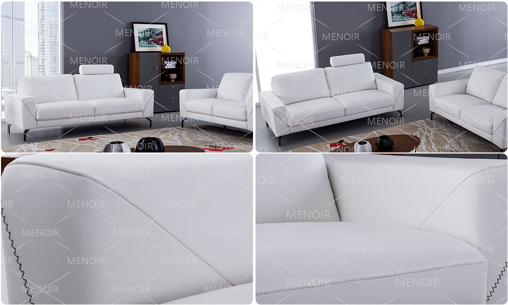 Menoir top grain leather sofa supplier bulk buy-1