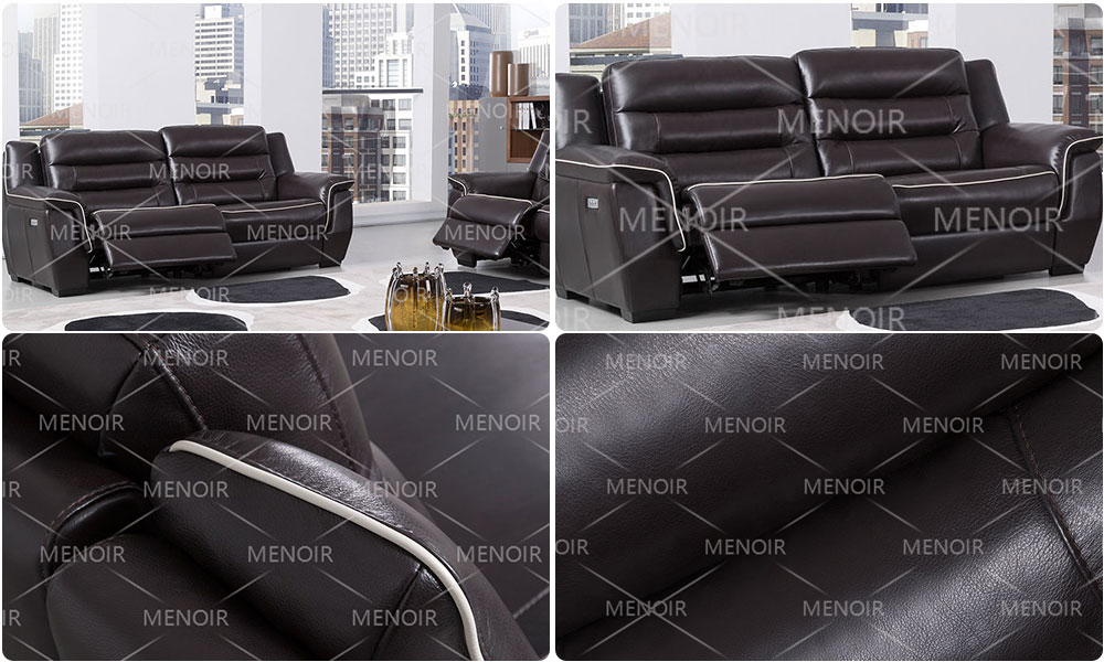 Menoir elegant all leather recliners inquire now for household-1
