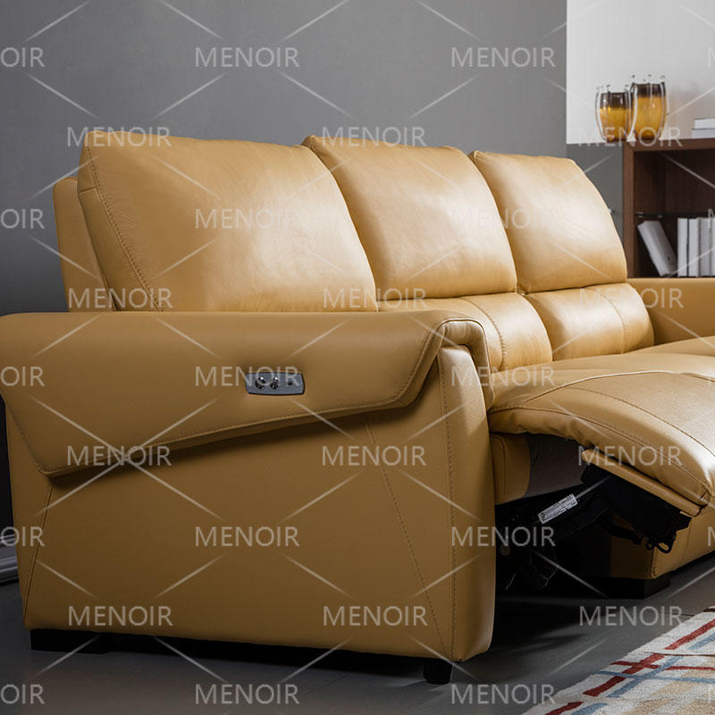 Menoir powered recliner lounge in modern style WA-S275