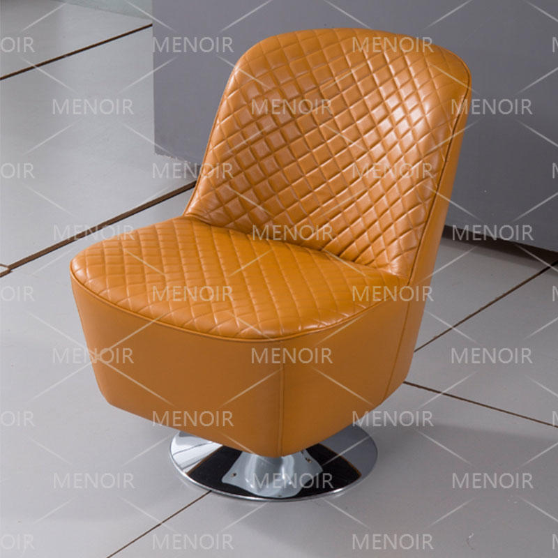Menoir soldier-standing style chair with steel legs WA-DY16