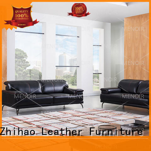 quality stylish leather sofa customized for hotel