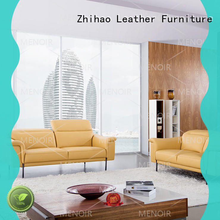 black leather sofa hardware for hotel Zhihao