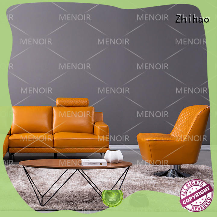 Zhihao stable cool leather chairs supplier for home