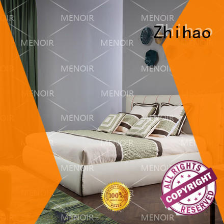 reliable leather platform bed directly sale for household