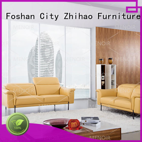 top selling leather sofa living room factory direct supply for home
