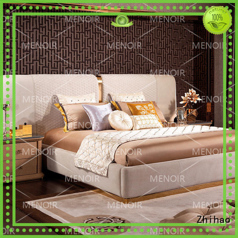 Zhihao bed leather queen bed series for bedroom