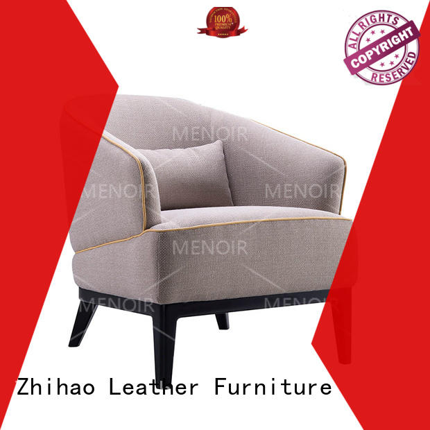 Menoir best value best leather club chair from China for bedroom