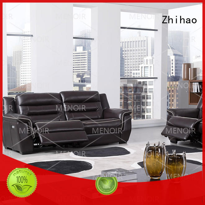 Zhihao lp leather rocker recliner inquire now for hotel