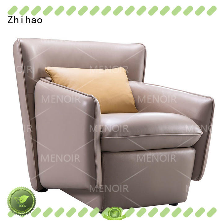 professional small leather chairs for living room supplier for bedroom