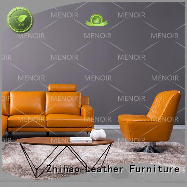 Menoir approved leather swivel chair manufacturer bulk production