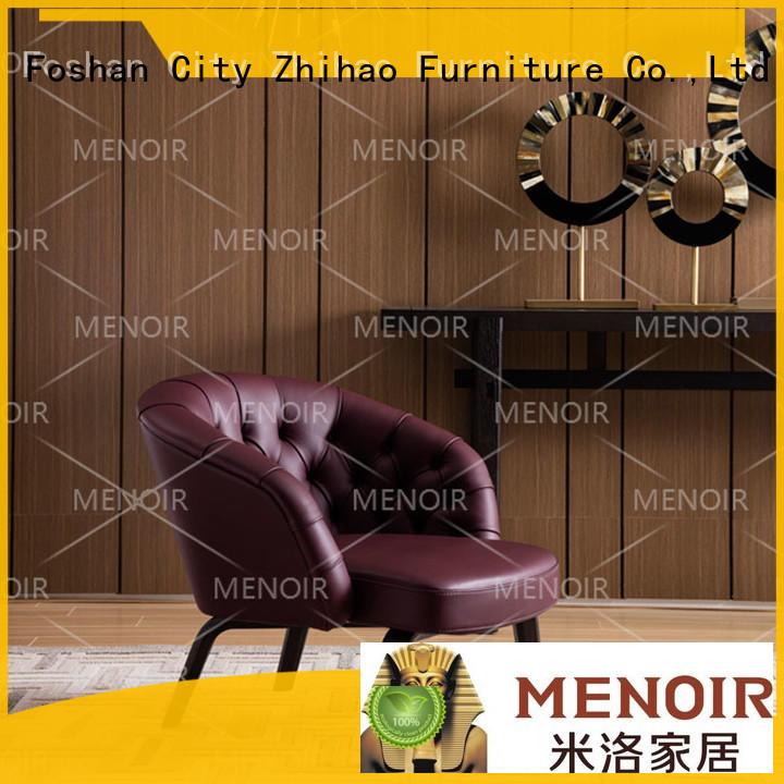 Menoir latest leather swivel armchair from China bulk production
