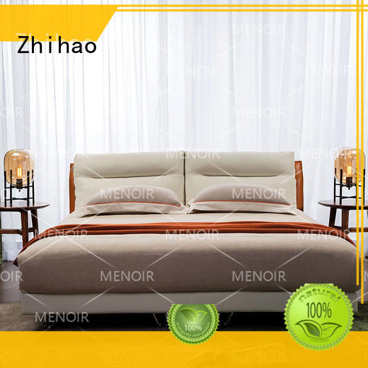 quality leather twin bed from China for household Zhihao