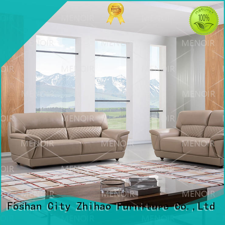 Menoir excellent best leather sofa factory direct supply for hotel