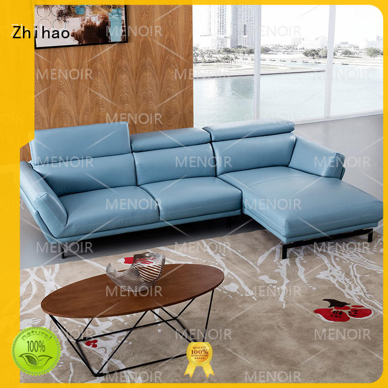 practical leather sofa contemporary design from China for home