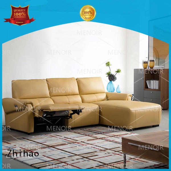 recliner black leather recliner with good price for hotel Zhihao