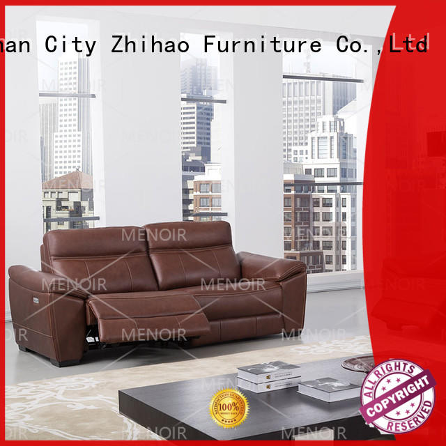 factory price leather loveseat recliner with good price for promotion