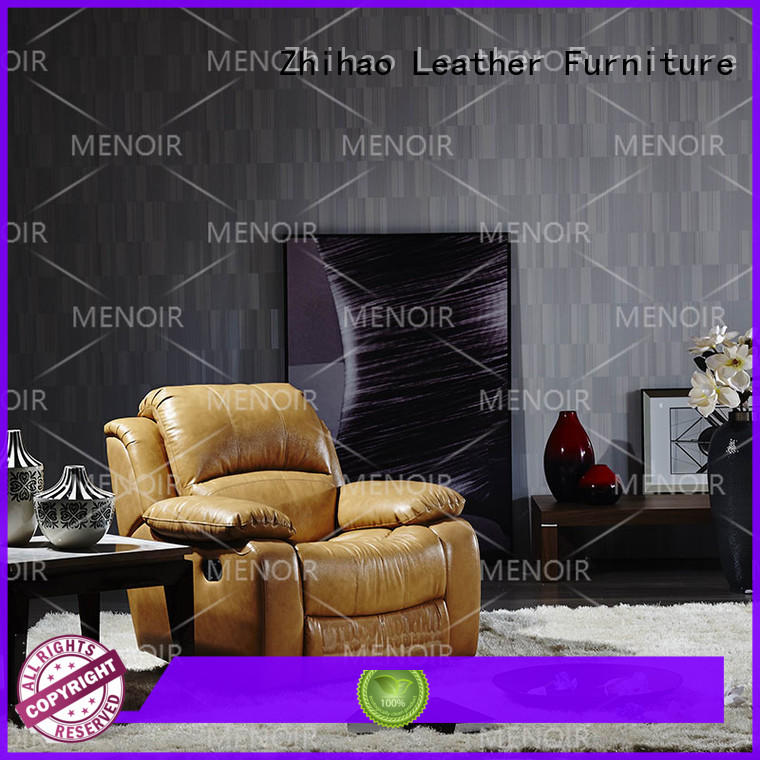 approved compact leather recliner design for home
