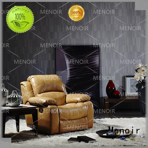 Menoir leather sofa and recliner set manufacturer for household