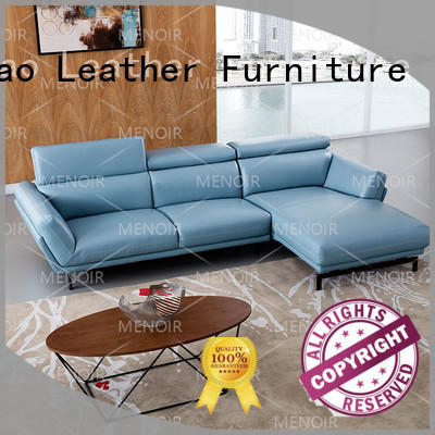 contemporary black leather sofa black removable wood Warranty Zhihao