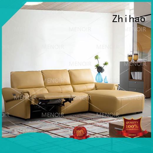 approved slim leather recliner factory for bedroom Zhihao