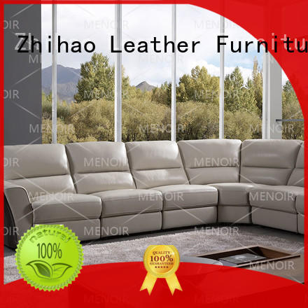 Menoir efficient leather loveseat recliner factory bulk buy