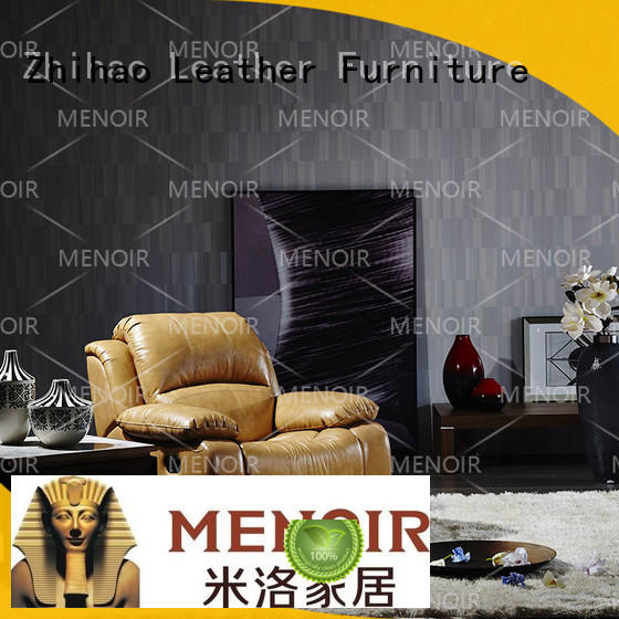 design brown leather recliner with good price for bedroom Zhihao