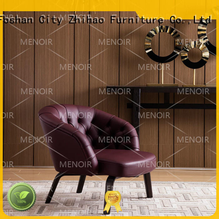 Menoir strong leather reading chair wholesale on sale