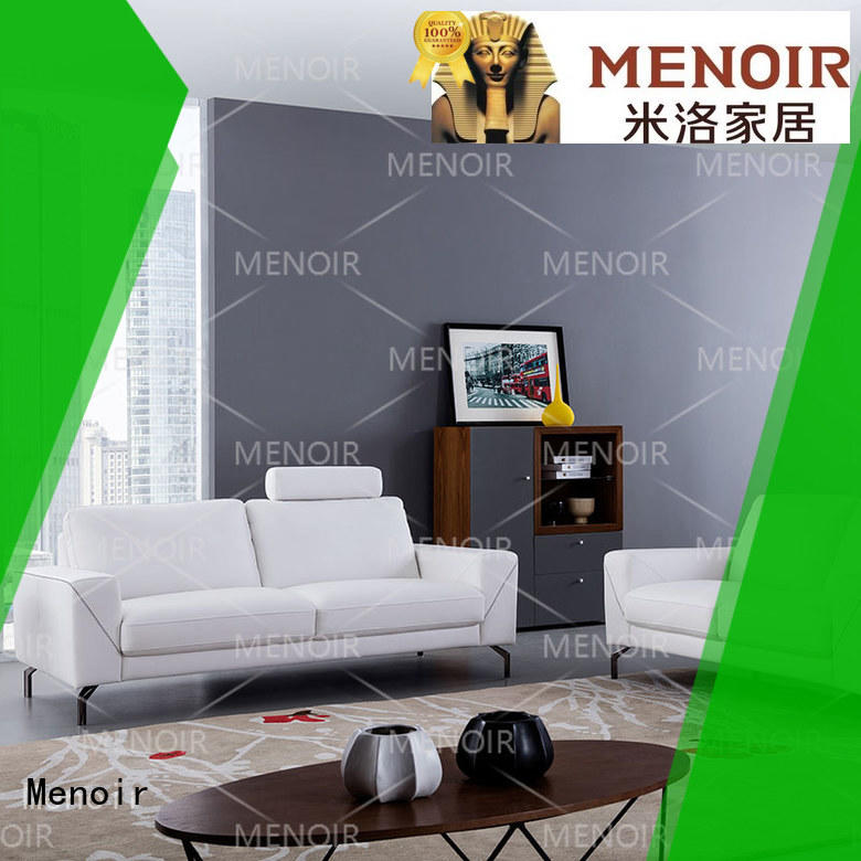 Menoir leather modular sofa directly sale for hotel