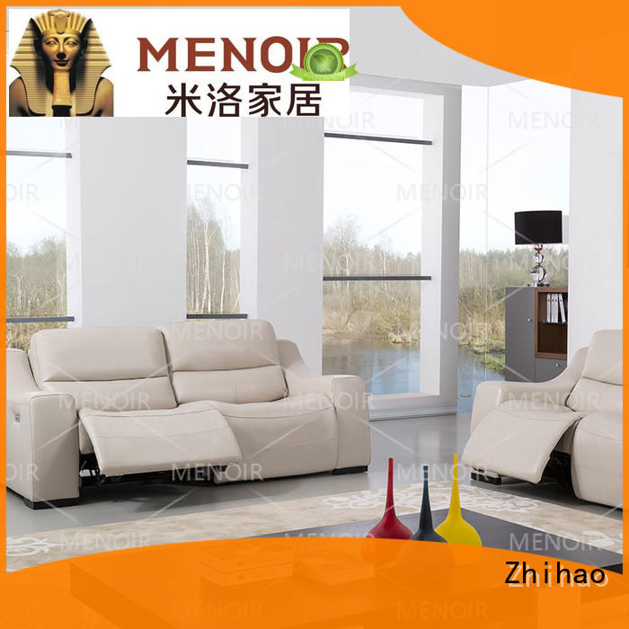 efficient modern leather recliner sofa factory for household