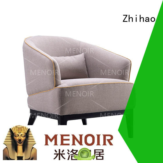 veneer best leather club chair supplier for household Zhihao