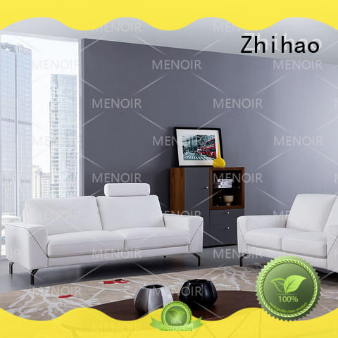 headrest leather sofa living room from China for bedroom Zhihao