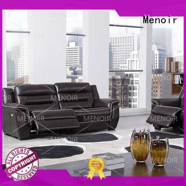 Menoir best value modern leather recliner sofa wholesale for sale
