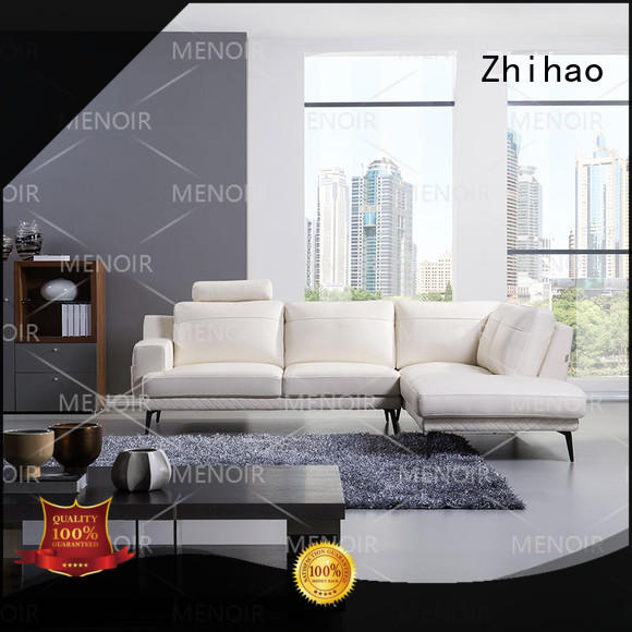 practical contemporary black leather sofa manufacturer for bedroom
