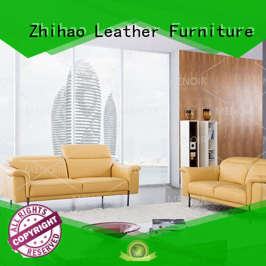 feet modern leather sofa series for home Zhihao