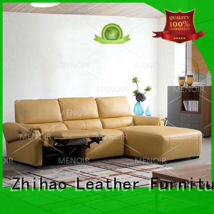 top selling modern leather recliner sofa chair company for sale