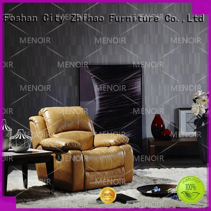 Menoir low-cost modern leather recliner sofa supplier on sale