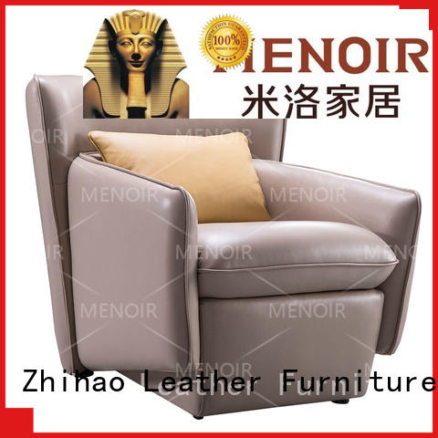 stable leather reading chair wady08 factory for promotion