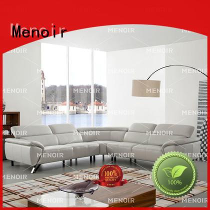 Menoir durable best leather sofa supplier for household
