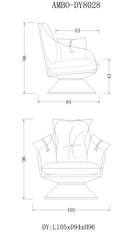 Menoir certificated small leather accent chair directly sale on sale-8