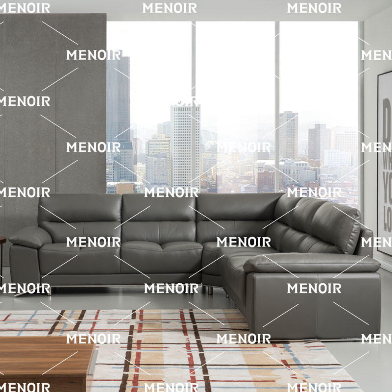 Menoir fashion design sofa in stainless steel frame and comfortable seat WA-S319