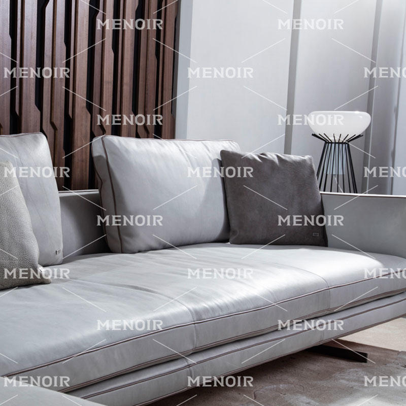 MENOIR FASHIONAL STYLE AND LEATHER SOFA MODERN DESIGN AMBO-S8033