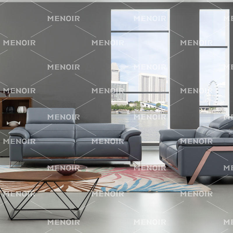 MENOIR FRESH CONTEMPORARY FURNITURE LEATHER SOFA WA-S330
