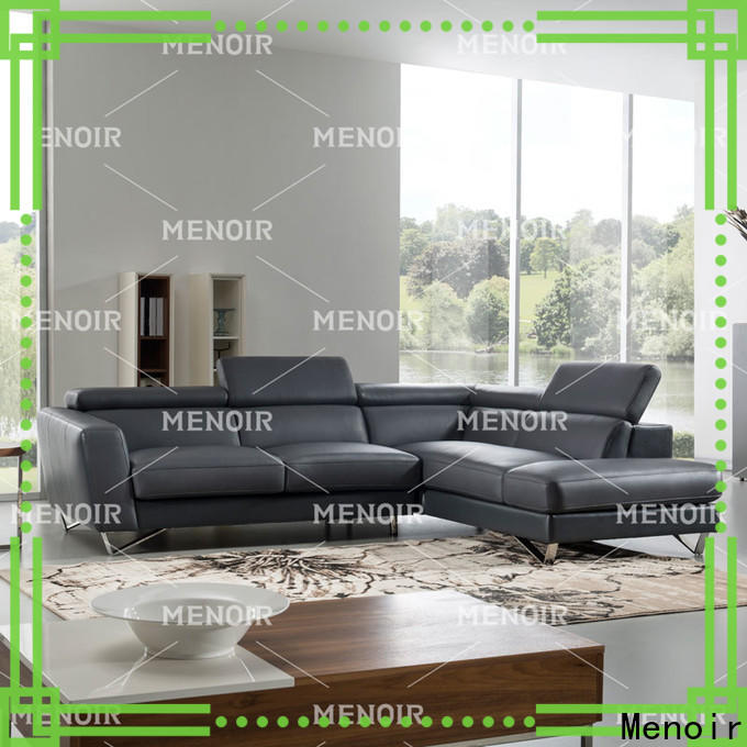 Menoir contemporary leather reclining sofa factory direct supply bulk buy