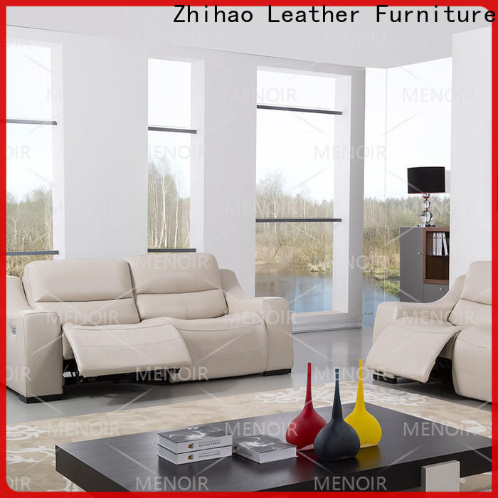 excellent leather look recliners with good price bulk production