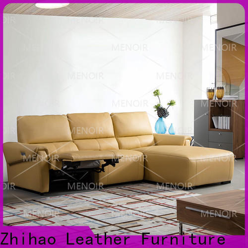 Menoir modern low back leather recliners manufacturer for home