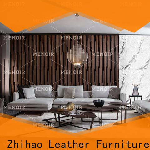 elegant modern leather sofa company for bedroom